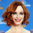 christina hendricks - wedding hairstyles