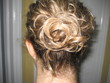 easy simple styles messy bun - Hair Accessories