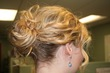 modern updo pin- loose curly bun - Hair Accessories