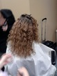 curly girl - Medium hair styles