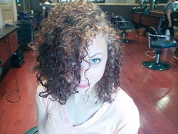 My client Marissa, awesome cut! - Brunette, Medium hair styles, Female, Makeovers, Adult hair hairstyle picture