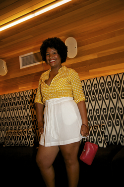 Cassadie at the Curly Pool Party - Medium hair styles, Kinky hair, Afro, Female, Adult hair, Textured Tales from the Street hairstyle picture