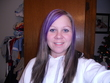 me purple straight - Brunette