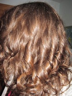 Too bad my hair only looks this good when I use an iron! - Brunette, Wavy hair, Long hair styles, Readers, Female, Curly hair, Adult hair hairstyle picture