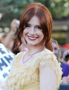 Bryce Dallas Howard - Redhead, Celebrities, Wavy hair, Long hair styles, Formal hairstyles hairstyle picture
