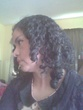 my 3b curls side view - black hair