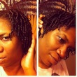 finger coils - Black hair