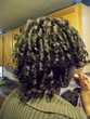 flexi-rod curls - Mature hair