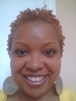 The Best Darn Finger Coils Ever! - Blonde, Short hair styles, Readers, Adult hair, Coil out, 4c hairstyle picture