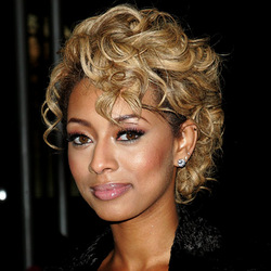 Keri Hilson - Blonde, Celebrities, Medium hair styles, Kinky hair, Female, Spiral curls hairstyle picture