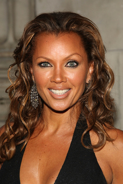 Vanessa Williams - Brunette, Celebrities, Kinky hair, Long hair styles, Female, Curly hair hairstyle picture
