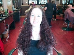 Valerie donated these beautiful curls! - Brunette, Long hair styles, Female, Makeovers hairstyle picture