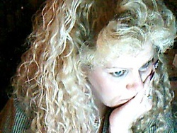 more curls - Blonde, 3b, 3c, Long hair styles, Readers, Female, Curly hair, Adult hair, Spiral curls, Curly kinky hair hairstyle picture