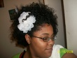 playing w  my flower - Curly hair, 3a, 3b, 3c