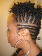 twist out mohawk -