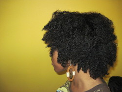 My curly coils - Brunette, 3c, 4a, Medium hair styles, Readers, Female, Black hair, Adult hair, Braid out hairstyle picture