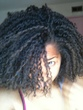 twist out from mini-twists - Curly kinky hair, 3c