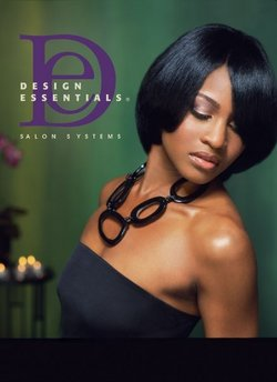 Design Essentials - Medium hair styles, Kinky hair, Styles, Female, Black hair, Straight hair hairstyle picture