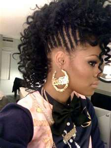 teyana taylor - Celebrities, Long hair styles, Readers, Styles, Female, Curly hair, Black hair, Adult hair, Mohawk hairstyle picture