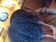 ponytail - Curly kinky hair, 3c