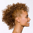 Curly Hair Style: Mohawk pictures