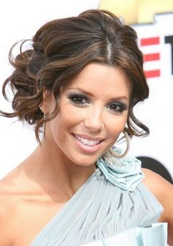 Eva Longoria - 2a, Medium hair styles, Special occasion hairstyle picture