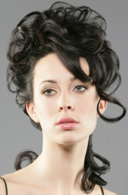 Benniefactor: Stylish Updo - Brunette, 2b, Medium hair styles, Updos, Styles, Special occasion, Female hairstyle picture