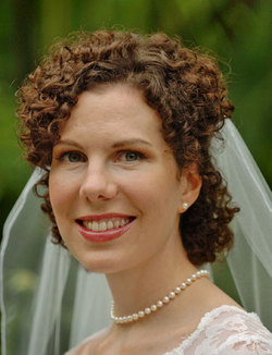 What a curl! - Brunette, 3b, Medium hair styles, Updos, Wedding hairstyles, Summer hair, Styles, Female, Curly hair hairstyle picture