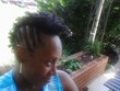 side view of two-strand twist frohawk - Natural Hair Celebration