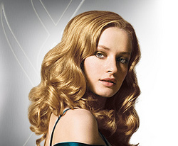 Nexxus - Blonde, 2b, Wavy hair, Medium hair styles, Styles, Female hairstyle picture