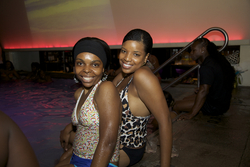 Poolside Naturals at the Curly Pool Party - Kinky hair, Female, Textured Tales from the Street hairstyle picture