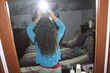 my hair is growing -