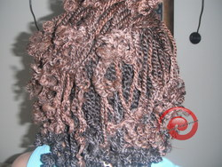 my protective style - 4a, Medium hair styles, Kinky hair, Twist hairstyles, Braids, Afro, Readers, Styles, Female, Black hair, Adult hair, Twist out, Natural Hair Celebration, Textured Tales from the Street hairstyle picture