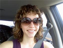 Curly bangs! - Blonde, 3a, Medium hair styles, Readers, Female, Curly hair hairstyle picture