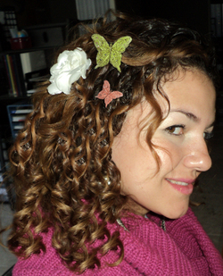 Back to Nature Curls - Readers, 2010 Holiday Photos hairstyle picture