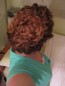 French-twist with a twist - Wedding hairstyles, Readers hairstyle picture