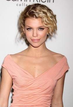 AnnaLynne McCord - Blonde, Celebrities, Updos, Long hair styles, Female, Curly hair, Adult hair hairstyle picture