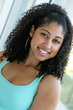 headshot - Curly kinky hair, 3c