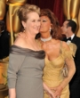 meryl streep and sofia loren - 2009 Academy Awards