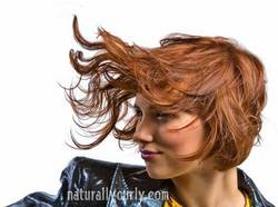A Look from Sam Villa - Redhead, Wavy hair, Short hair styles, Styles, Female, Adult hair hairstyle picture