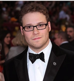 Seth Rogan - Blonde, 3a, Celebrities, Male, Curly hair, 2009 Academy Awards hairstyle picture