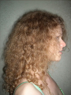 not sure if I want it long - Blonde, 3b, Long hair styles, Readers, Female, Curly hair, Adult hair, Layered hairstyles, Natural Hair Celebration hairstyle picture