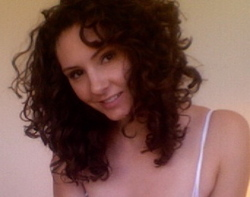 Curly and lovin it - Brunette, 3c, Medium hair styles, Kinky hair, Long hair styles, Readers, Female, Curly hair hairstyle picture