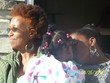 three generations of natural beauties - Afro puff