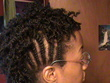 mini twists flat twists - short hair styles