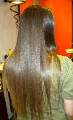 Pj After Keratin - Brunette, 3b, 3c, Long hair styles, Readers, Female, Curly hair, Makeovers, Adult hair hairstyle picture