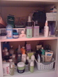 a view in my pink bathroom - Show Us Your Bathroom Cabinet Contest