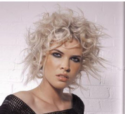 Defined & Wild - Blonde, Short hair styles, Styles, Female, Curly hair, Teen hair, 2c hairstyle picture