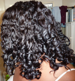 Curly Nikki's Twist&Curl - 3b, 3c, 4a, Long hair styles, Readers, Female, Curly hair, Black hair hairstyle picture