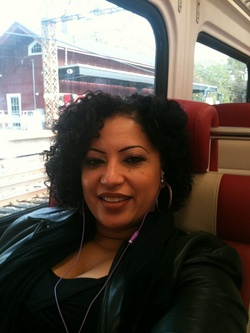 On my way to work - 3c, Short hair styles, Readers, Female, Black hair, Adult hair, Twist out hairstyle picture